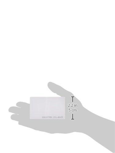 50 piezas EM4100 inteligentes por proximidad 125kHz entrada tarjeta de proximidad RFID ID acceso