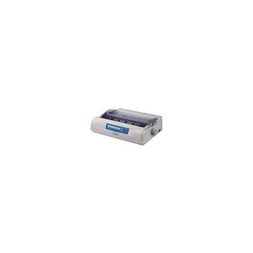 - OKI 62418801 Matrix MICROLINE 421 Dot Matrix Printer (9-pin) (570 cps) (128 KB) (240 x 216 dpi) (Max Duty Cycle 17000 Pages) (Parallel) (USB) (Energy Star)