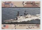 Spruance Class Destroyer (dd) (Trading Card) 1991 Pro Set Desert Storm - [Base] #195