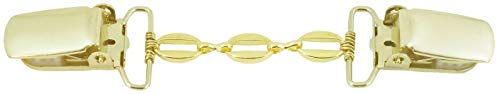 Better Than Buttons 3 Gold Oval Links Cardigan Clip