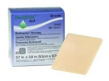 Box Of 20 DuoDerm Hydroactive Dressing by DuoDERM Hydroactive
