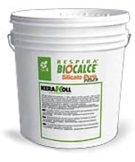 pintura de color blanco Biocalce 14/L Kerakoll