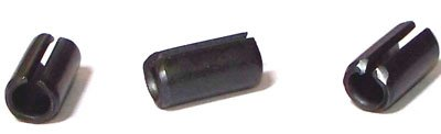 7/16 X 1 1/2 Roll / Spring Pins / Steel / Plain / 300 Pc. ()