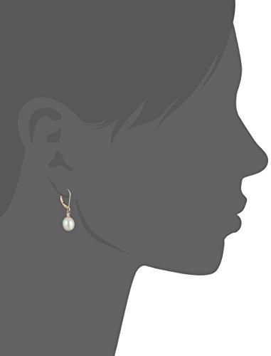 10k-Yellow-Gold-Freshwater-Cultured-Pearl-with-Diamond-Accent-Drop-Earrings-8-85-mm