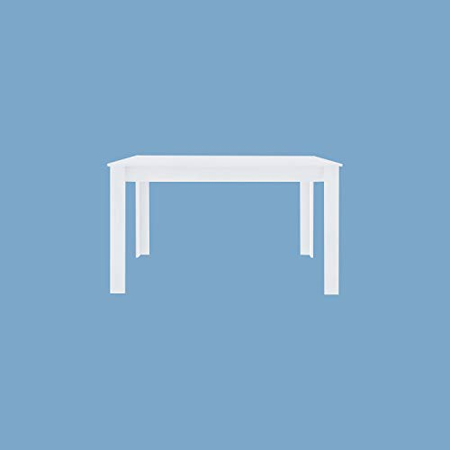 High White Gloss Lacquer Barry L Extendable Dining Table