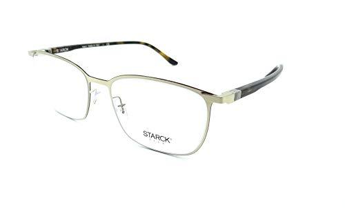 846a5b7ac3077 Starck Eyes Mikli Rx Eyeglasses Frames SH2028 0003 55x17 Shiny Light Gold  Havana