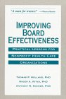 Improving Board Effectiveness, Thomas P. Holland and Roger A. Ritvo, 1556481810