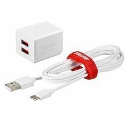 【まとめ 10セット】 BUFFALO バッファロー BSMPA2402P2CWH 2.4A USB急速充電器 AUTO POWER SELECT機能搭載 2ポートタイプ Type-Cケーブル付 1.5m ホワイト   B07KNTGL1F