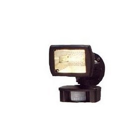 (Cooper Lighting MS80 110 Degree 150W Halogen Motion Security Floodlight, Bronze)