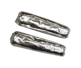 Stanco Safety Products 18'' Silver Aluminized PFR Rayon Heat Resistant Sleeves (2 Pairs)