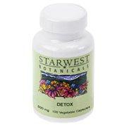 Detox  Capsules, Starwest Botanicals, 100 Caps