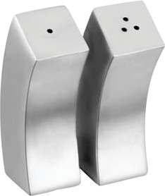 Zap Impex Elegant Design 3 Inch Stainless Steel Salt and Pepper Shakers