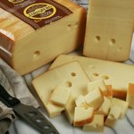 Cheese Jarlsberg Hickory Smoked (4 Lbs) Baby Swiss from Norway