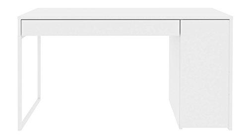 Modern Zoe Desk - White Lacquer