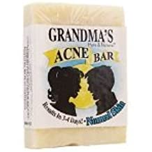 Grandmas Soaps Acne Control Bar Normal 4 Oz 2 Pack
