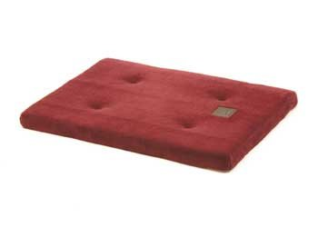 Precision Pet Products 2000 SnooZZy Dog Mattress, 22-3/4-Inch-by-16-Inch, Burgundy Baby Terry, My Pet Supplies