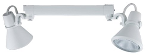 Jesco Lighting HMH904P3039-S Contempo 904 Series Metal Halide Track Light Fixture, PAR30, 39 Watts, Silver Finish