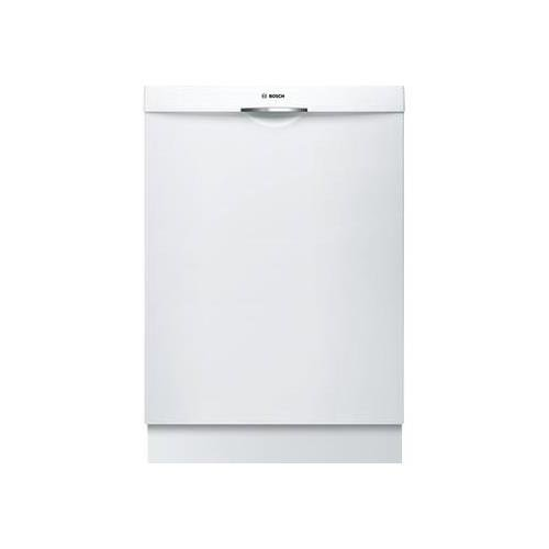 Bosch SHS5AV52UC 24″ Ascenta Energy Star Rated Dishwasher with 14 Place Settings Stainless Steel Tall Tub 24/7 Overflow Protection System 6 Wash Cycles and Info Light in
