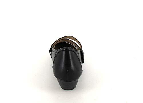 Noir Pour Pumps Jana Mocassins Noir 6 Femme 6wSIxI