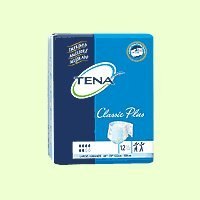 Tena 67914 Classic Plus Extra Large Briefs Moderate/Heavy 60/Case