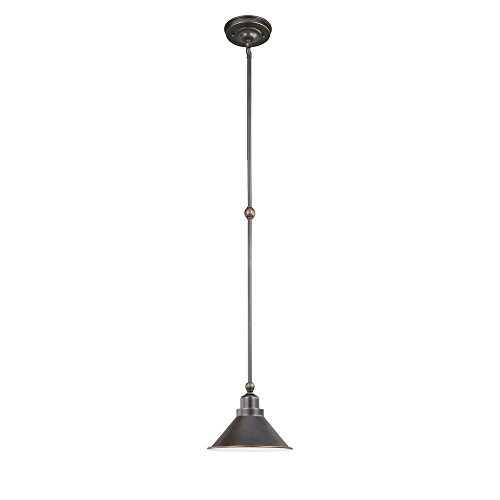 World Imports Lighting 76101-89 Luray 1 Light Pendant in Bronze