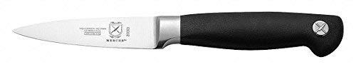 Mercer Cutlery 3-1/2'' Paring Knife, Black M20003-1 Each by Mercer Culinary
