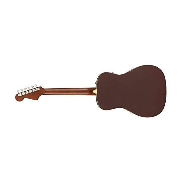 Fender Malibu Player Electro Acoustic Guitar – Burgundy Satin