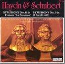 Hydn: Symphony No. 49 / Schubert: Symphony No. 5