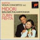 (Bartok - Violin Concertos No.1 & No.2 / Midori, Berlin Phil., Mehta)