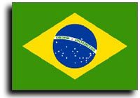 Brazil - 3' x 5' Nylon World Flag