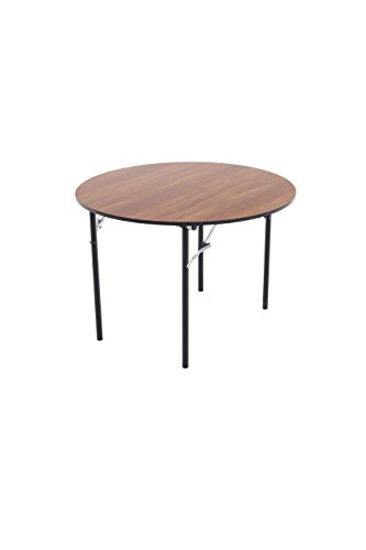 AmTab - R42DP - Folding Table, Plywood Core, Round, 42