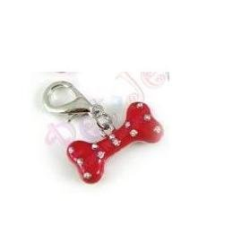 Pet Charms - Dog Charms - collar charms - enamel crystal pet charm in (Pet Jewelry Beverly Hills)