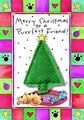 """Crunchkins """" Merry Christmas to Purr-Fect Friend Catnip Toy Greeting Card, My Pet Supplies"""
