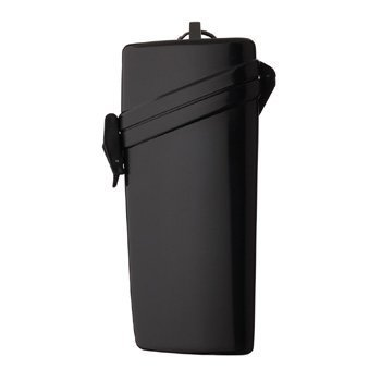 Witz Lens Locker Waterproof Case - 3in x 6.3in x 1.8in (Black) by Witz (Locker Lens Witz)