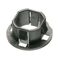 Arlington 4400 Plastic, 1/2-Inch Snap-In Bushings for Knockouts, 100-Pack