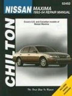 chilton s nissan maxima 1993 04 repair manual chilton rh amazon com Quick Reference Guide Layout Quick Reference Guide Layout
