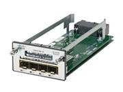 Cisco C3KX-NM-10G Network Module. CATALYST 3K-X 10G NETWORK MODULE SW-CP.