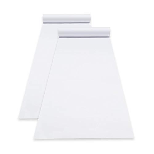 Melissa amp Doug 18Inch Easel Paper Rolls Arts amp Crafts Bond Paper 75Foot Roll 2Pack 18″ W × 75′ L