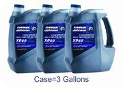 OEM BRP Johnson Evinrude E-Tec Case of (3) Gallons XD50 Outboard Motor Oil