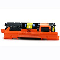 MPI C9702A Compatible Laser Toner Cartridge for HP LaserJet 1500, 2500 Series printers Yellow