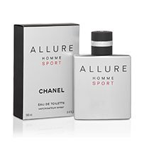 ALLURE HOMME SPORT Eau De Toilette Spray for Men (3.4 Fl OZ) by PARIS HOMME