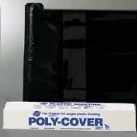 4 Mil Black Poly Sheeting - ORGILL POLY 4X28-B Polyethylene Sheeting, 4-Mil, Black