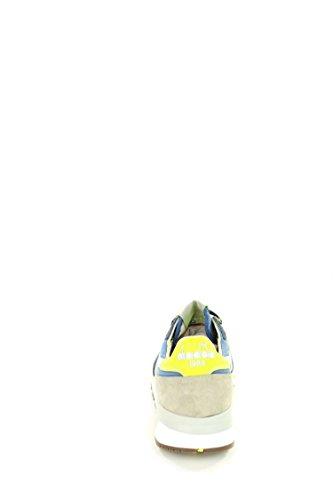 Diadora Heritage, Uomo, Trident 90 C SW Olive, Pelle/Canvas, Sneakers, Verde Blu/Grigio