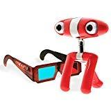 Minoru Dual Lens 3D 640x480 USB 2.0 Webcam w/ 5 Pairs of 3D Glasses - -