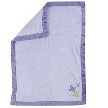 Crown Crafts NoJo Beautiful Butterfly Fleece Blanket