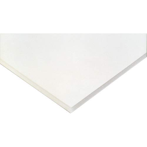 Pack of (5) 24x36 3/16'' Acid Free White Foam Core by Woodburns Stencil Shop