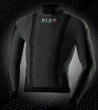 SIX2 SIX2TS3 - Maillot thermorégulateur et à manches longues M noir