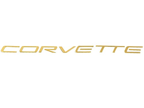 1997-2004 Corvette Rear Letter Set 24K Gold Plated ()
