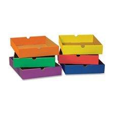Pacon Six Shelf Organizer - Drawers,F/6-Shelf Organizer,12-1/2