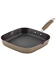 Anolon Grill Pan (Anolon Advanced Deep Square Grill Pan -11 Inch Square Brown)